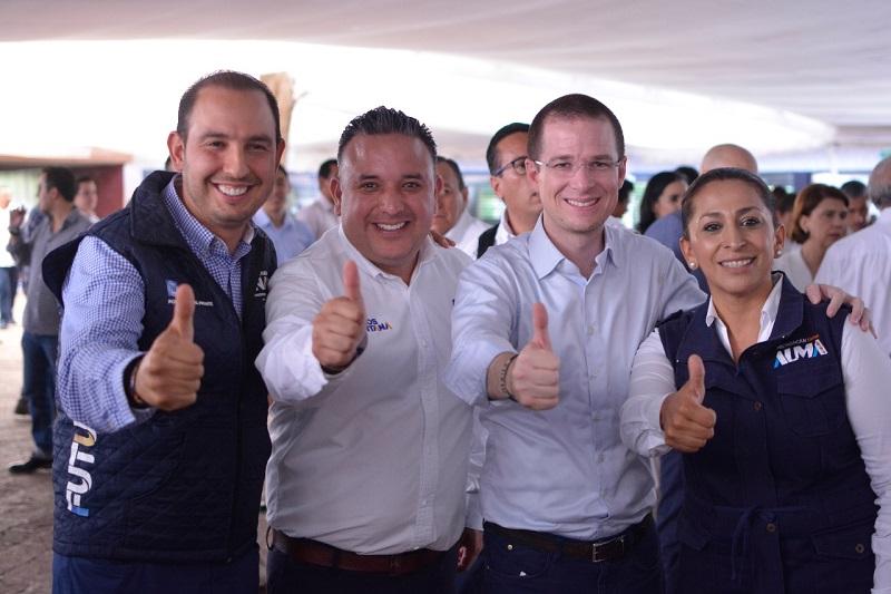 Ricardo Anaya es un hombre con una visión clara de la dirección que debe tomar el país, aseguró Carlos Quintana