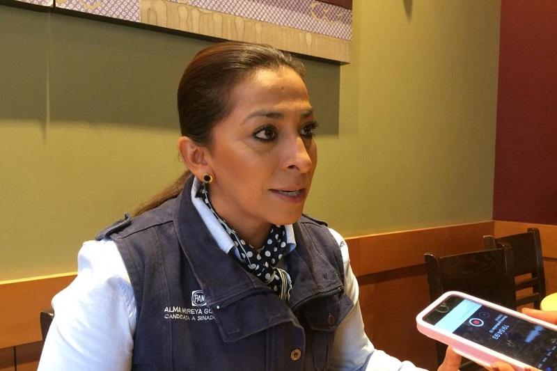 Ya basta de violencia; en Michoacán queremos paz: Alma Mireya González
