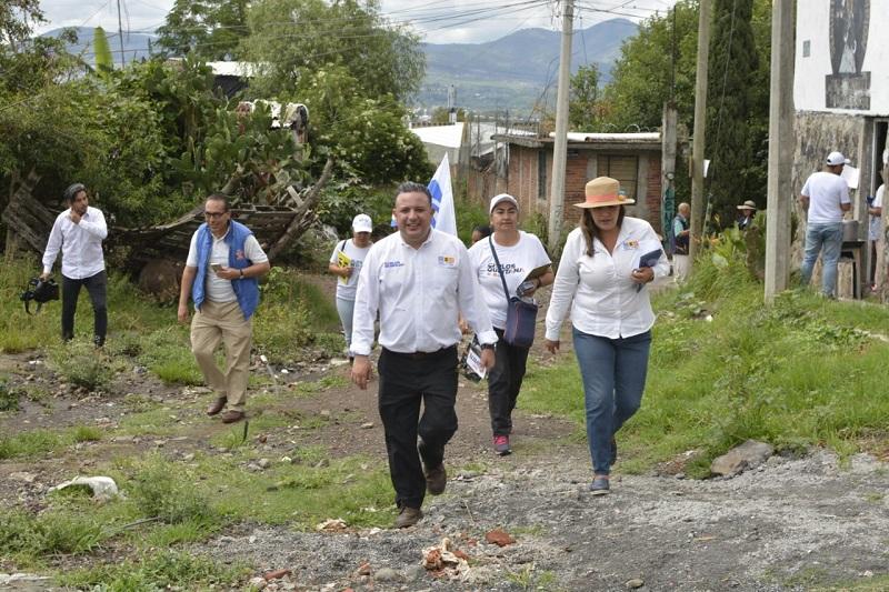 Tenemos que reducir esa brecha de desigualdad que hay entre las colonias de Morelia: Carlos Quintana