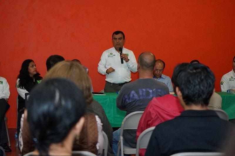 """El hecho de que en Morelia """"no esté coordinada con el estado y la federación ya provocó que ocupe el deshonroso primer lugar en índices delictivos del estado"""", sentenció Constantino Ortiz"""