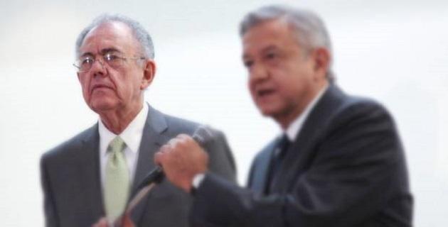 En la página lopezobrador.org.mx, en el perfil de Jiménez Espriú sí dice que fue miembro del Consejo de Administración de la empresa Idesa