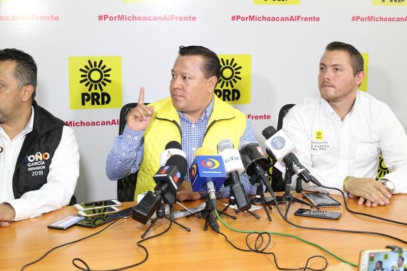 García Avilés demandó a las autoridades federales y estatales a que se apliquen los protocolos de seguridad correspondientes para garantizar la seguridad de todos los candidatos en este proceso electoral, sin importar el partido al que pertenezcan