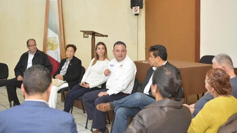 Carlos Quintana aseguró que durante su administración cada obra será licitada de manera pública, dando oportunidad a los constructores morelianos