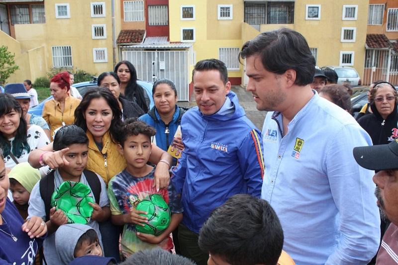 Habitantes de Villas del Pedregal respaldan proyecto ciudadano de Jonathan Sanata