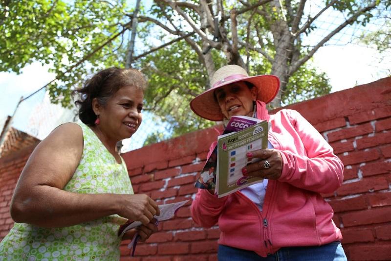 Luisa María Calderón llamó a los ciudadanos a  ejercer un voto libre y de conciencia, que sirva para tener un Congreso fuerte y representativo