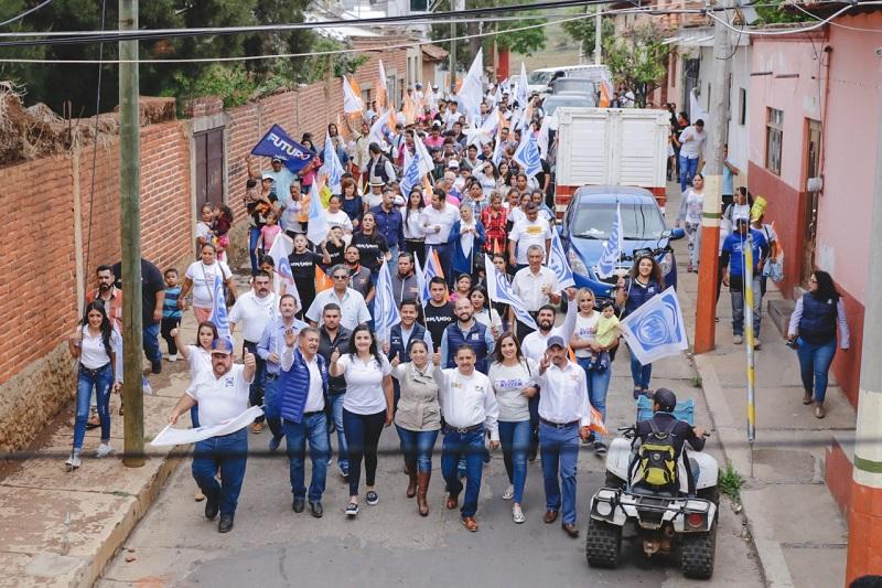 Alma Mireya González reitera el respaldo que tendrán los gobiernos municipales de Michoacán en el Senado