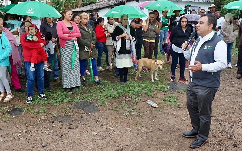 Constantino Ortiz se comprometió a ser un aliado de las comunidades y tenencias de Morelia