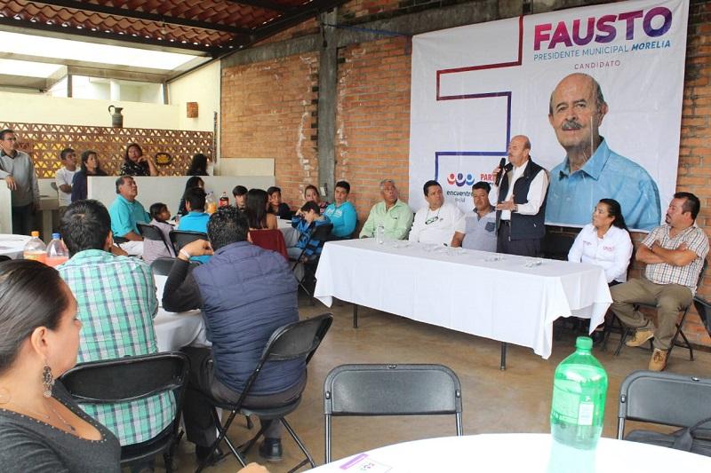 Ante Fausto Vallejo, agremiados a esta organización, pidieron no dejar que se pierdan las tradiciones