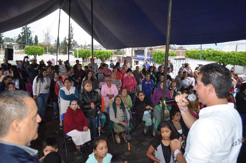 Pérez Negrón Ruiz presentó sus propuestas y destacó que con el apoyo de la ciudadanía en este 1 de julio, será diputado y desde el Congreso de la Unión estará trabajando de la mano de la gente y así lograr un Morelia Sin Miedo