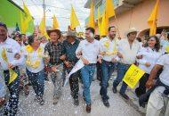 Toño García explicó que así como el PRD no abandonó Michoacán y lo levantó en los últimos años, ahora en la coalición, se levantará México desde cada una de las diferentes trincheras de la función pública