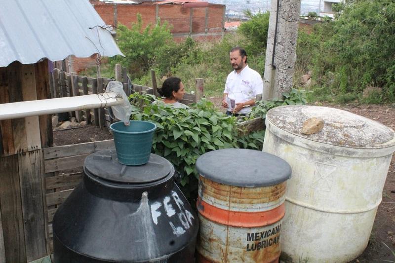 Vallejo Mora tuvo la oportunidad de saludar y presentarle sus propuestas a alrededor de 400 vecinos de estas colonias de la ciudad