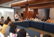 En esta reunión, López Mújica, además dijo que dará seguimiento a la prevención de Violencia de Género y fortalecer la cultura de integración en los roles laborales, académicos y empresariales