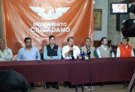 Las dirigencias estatales de Movimiento Ciudadano y PES anunciaron que se analiza la posibilidad de concretar más alianzas en otros municipios de Michoacán (FOTO: SEBASTIÁN CASIMIRO)