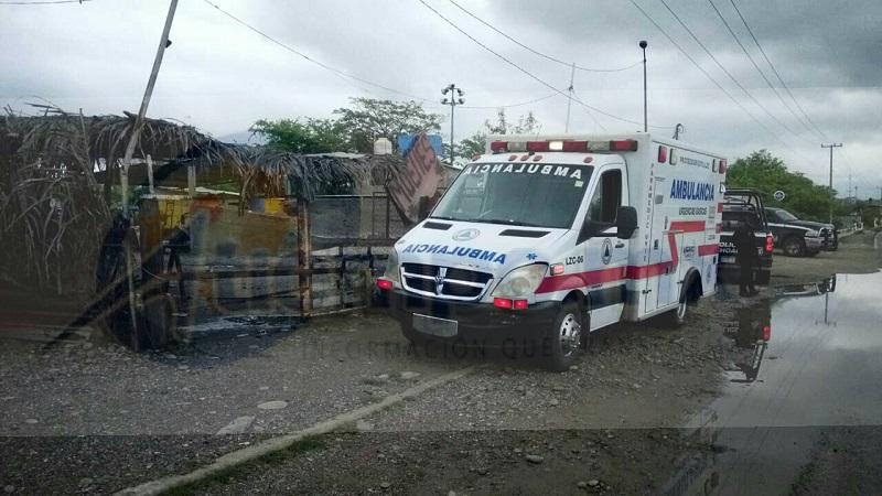 De inmediato fueron activados los servicios de emergencia arribando elementos de Protección Civil Municipal, al igual que elementos de la Policía Michoacán