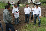Vallejo Mora saluda a habitantes de Ciudad Jardín y les presenta sus propuestas