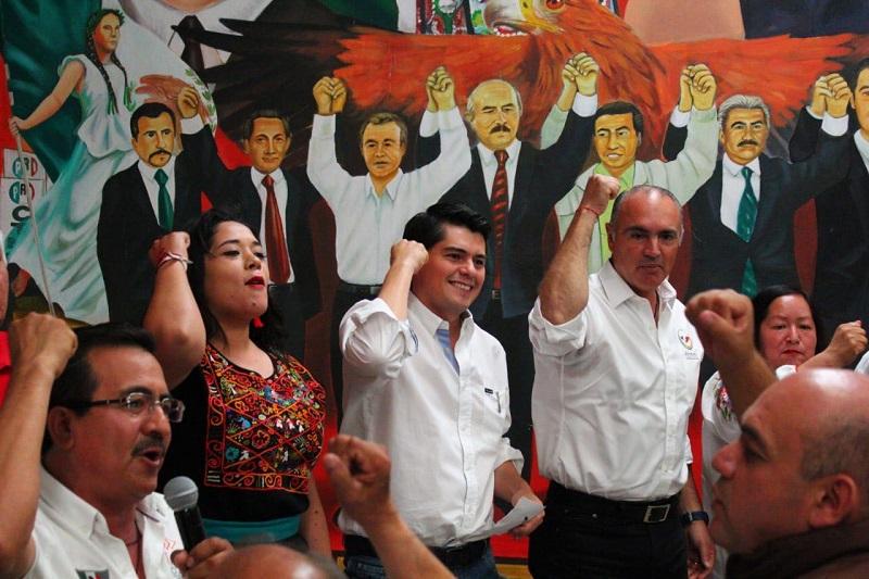El dirigente nacional de Movimiento Territorial fue testigo del júbilo que se vive en Tarímbaro, para el fortalecimiento de los candidatos del tricolor