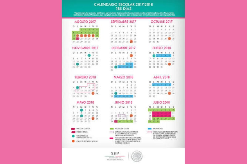 En el calendario estatal, el último día clases está señalado para el próximo lunes 9 de julio