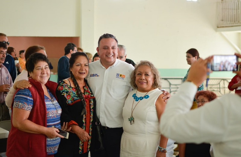 Regresarán los descuentos fiscales a los jubilados y pensionados, para cuidar sus finanzas: Carlos Quintana