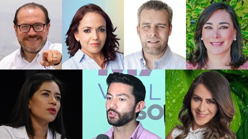 Así la oferta de candidatos que presentaron las distintas fuerzas políticas para el Distrito XVII de Morelia