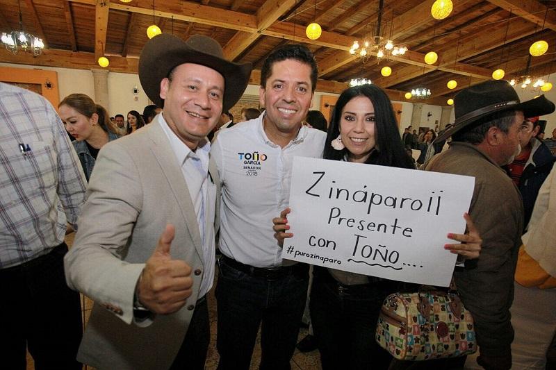 Toño García puntualizó que garantizará desde la tribuna una legislación que impulse la seguridad del estado para la armonía social que favorezca el desarrollo del trabajo en cada rincón de la entidad