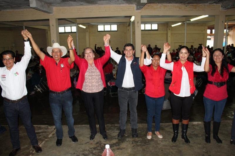 En el municipio de Jiménez la gente está cansada de ir al ayuntamiento y que no se le atienda, por eso aquí ya ganó el PRI: Toño Ixtláhuac