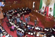 Los interesados que reúnan los requisitos establecidos en la convocatoria comparecerán públicamente ante las comisiones de Gobernación y de Derechos Humanos, para presentar un proyecto de trabajo