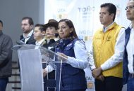 Exhortamos a las autoridades de los tres niveles de gobierno ejecuten un protocolo de seguridad para los candidatos y ciudadanos: Alma Mireya González