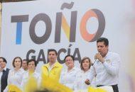 El abanderado del PRD, PAN y Movimiento Ciudadano habló en Zamora sobre la importancia de recobrar el tema de la agroindustria en el estado como un detonante económico