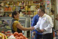 De la mano con los comerciantes, trabajaremos para detonar la venta de los productos e impulsar la economía de los morelianos: Carlos Quintana