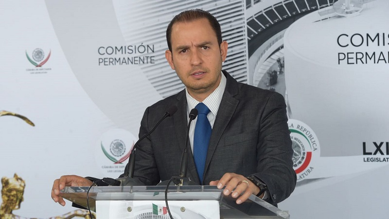Autoridades electorales y federales, obligadas a implementar un protocolo de seguridad para garantizar el proceso electoral: Marko Cortés