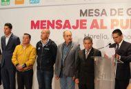 García Avilés en nombre del Comité Ejecutivo Estatal del PRD lamenta y condena los hechos ocurridos recientemente y hace un llamado a actuar con responsabilidad para no generar incertidumbre en el marco del proceso electoral
