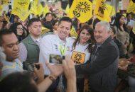 Antonio García Conejo se comprometió a ser el vínculo que permita la expresión de los pueblos originarios, para brindar políticas públicas que reconozcan su contribución social