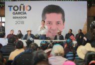 Antonio García Conejo recibió las peticiones para adherirlas a su proyecto legislativo, para dar voz a la comunidad Purépecha del estado