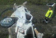 Al lugar acudieron paramédicos de Protección Civil Maravatío, así como Policía Michoacán y Federal indicando testigos que aparentemente los lesionados fueron trasladados a bordo de otro vehículo