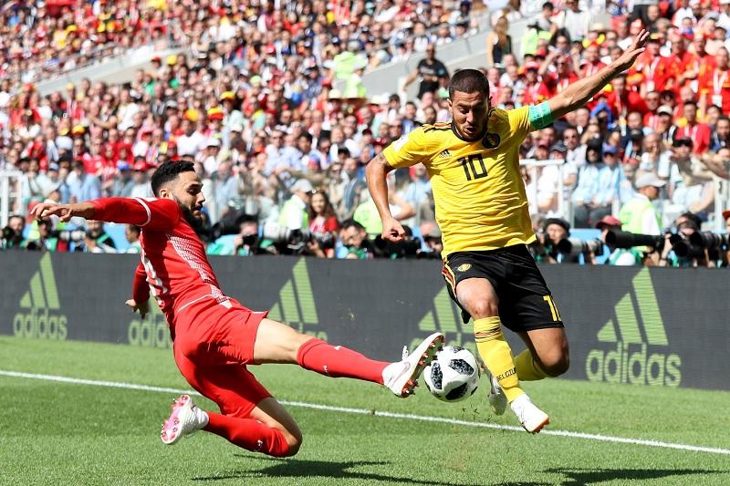 Así, Lukaku llegó a cuatro goles y comparte con Cristiano Ronaldo la punta en la tabla de los mejores anotadores en Rusia