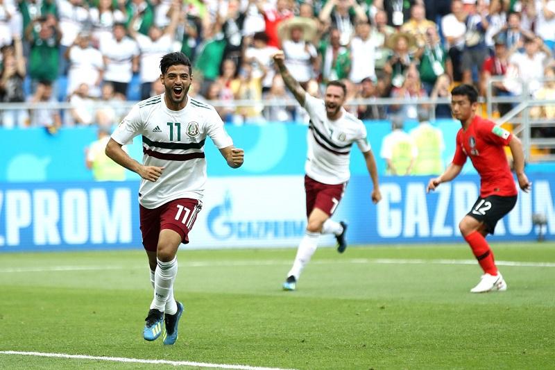 Con esta victoria, los mexicanos ponen un pie en los octavos, mientras su afición ya sueña con superar la maldición del quinto partido