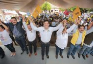 Antonio García Conejo reiteró a los presentes que en las ya cercanas elecciones obtendrá el triunfo para representar a Michoacán en la Asamblea Nacional y expresar sus necesidades de la sociedad en la tribuna