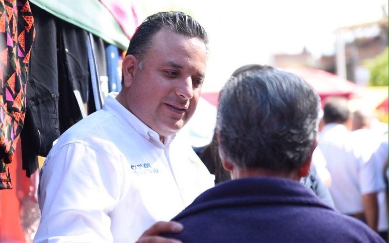 Inseguridad, pésimas vialidades y falta de empleos, principales demandas de comerciantes: Carlos Quintana