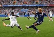 Los africanos, que habían derrotado 2-1 a la Polonia de Robert Lewandowski, y los asiáticos, vencedores 2-1 ante la Colombia de James Rodríguez, suman cuatro puntos