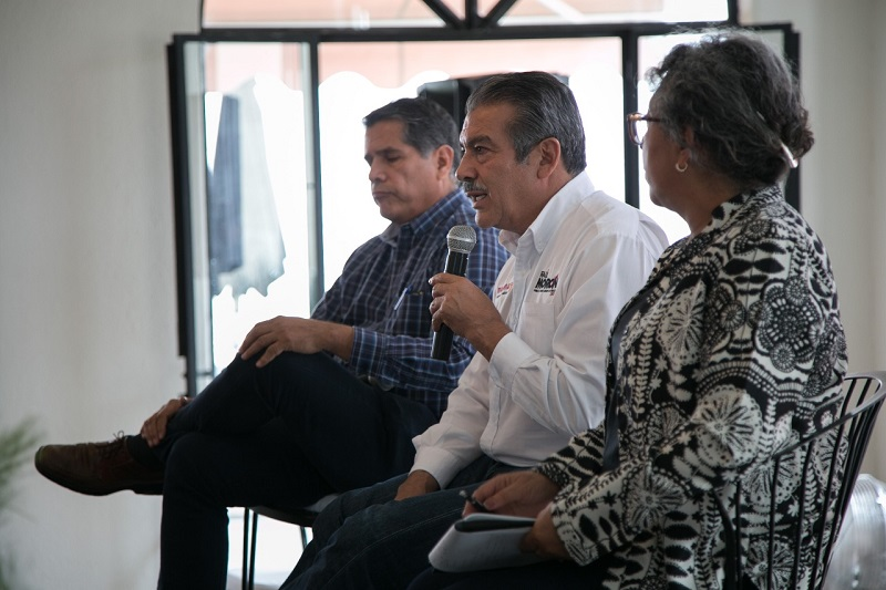 Raúl Morón Orozco explicó que se tienen de entrada 10 propuestas enfocadas para el desarrollo rural de la capital michoacana, mismas que detalló