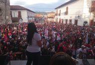 Xóchitl Ruiz convocó a los ciudadanos a reflexionar su voto, a conocer las propuestas de todos, analizarlas y elegir