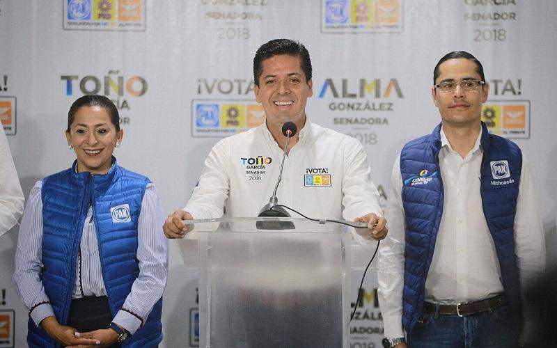 Antonio García Conejo reconoció el trabajo en equipo de sus integrantes para buscar el cambio en la sociedad, para que más personas se sumaran su proyecto ciudadano