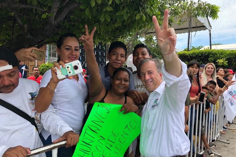 Tenemos en puerta una elección que será histórica y que significará una transformación para Michoacán, con Pepe Meade como presidente veremos un crecimiento y apogeo de la Zona Económica Especial: Gerónimo Color