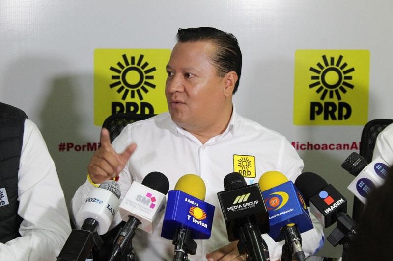 García Avilés reconoció el trabajo que están realizando las instituciones en materia de seguridad y procuración de justicia tras los hechos ocurridos en contra de los candidatos fallecidos