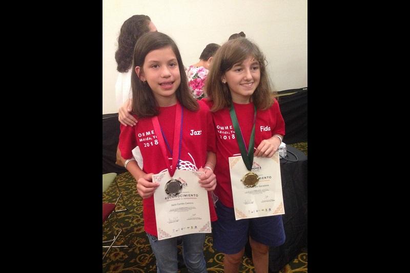 Los niños, compitieron con 28 delegaciones de todo el país que aglutinaron 261 participantes de tres categorías mientras que las dos chicas que ganaron medallas, ya tienen garantizado un lugar en la preselección Mexicana