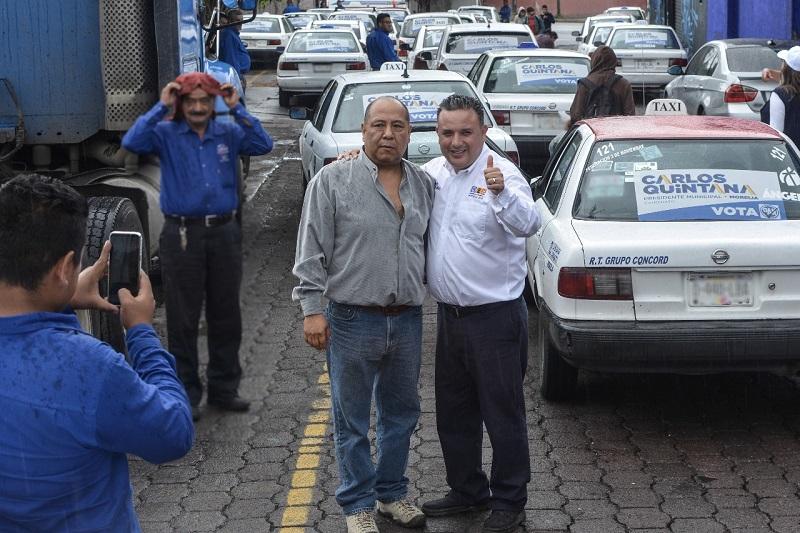 En el ayuntamiento trabajaremos de la mano con la ciudadanía, ya que son quienes verdaderamente importan: Carlos Quintana