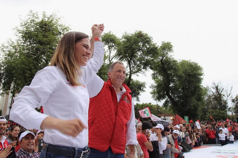 Daniela de los Santos es una mujer con experiencia, dando muestra de ello en la Sindicatura de Morelia, en el Congreso del Estado y el Congreso de la Unión, resaltó Meade