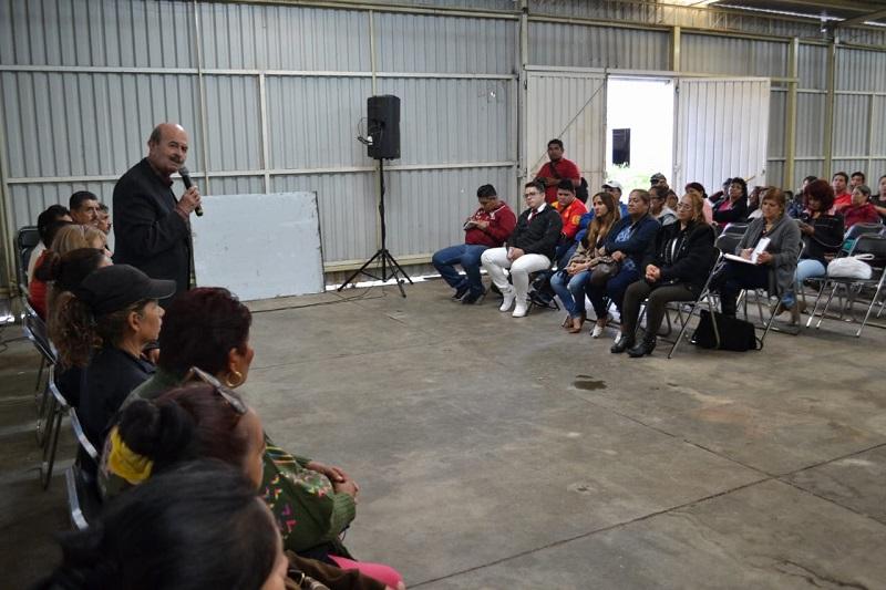 Vallejo Figueroa resaltó la importancia de dignificar al comercio, porque es una de las actividades económicas que más empleos genera en la capital y de la cual dependen miles de familias