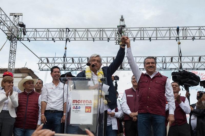 """La mayoría de militantes del PRD apoyarán a AMLO y a los candidatos de Morena"""", remarcó el candidato de Morena a la Presidencia Municipal de Morelia"""