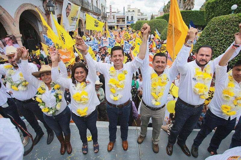 Toño García reconoció el ímpetu de los michoacanos, que han participado activamente en el crecimiento de México y aseguró que en esta ocasión no será la excepción